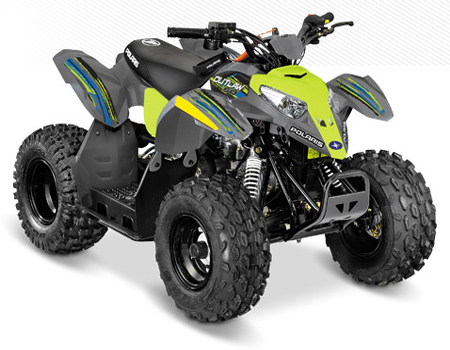 Quad Polaris – Adultes et enfants – Le Biclou à la Bridoire